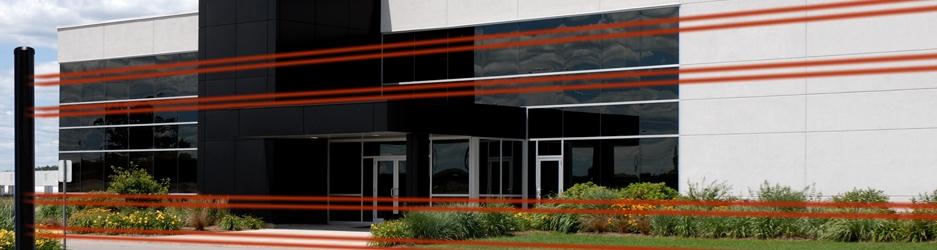 Optea sensori e barriere per protezioni perimetrali infrarosso attivo filari o auto alimentate - Barriere infrarossi per finestre ...