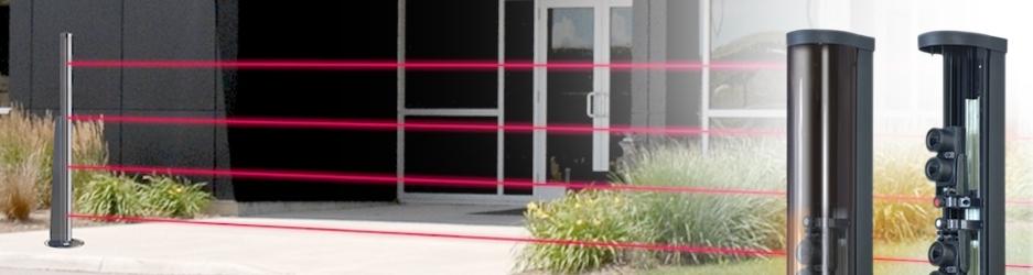 Barriera all infrarosso attivo per la protezione perimetrale esterna digi 100 - Barriere infrarossi per finestre ...