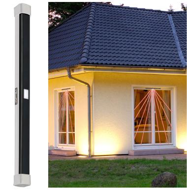 Sensore barriera a tenda reflex ad infrarosso attivo e - Protezione per finestre ...